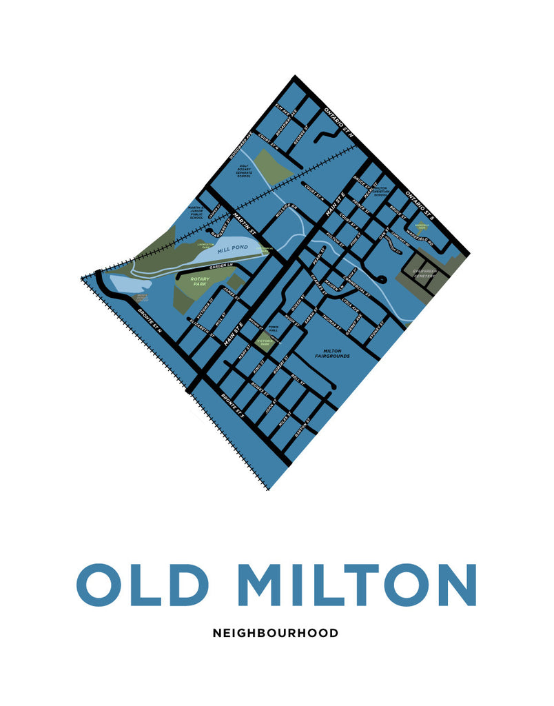 Old Milton Neighbourhood Map