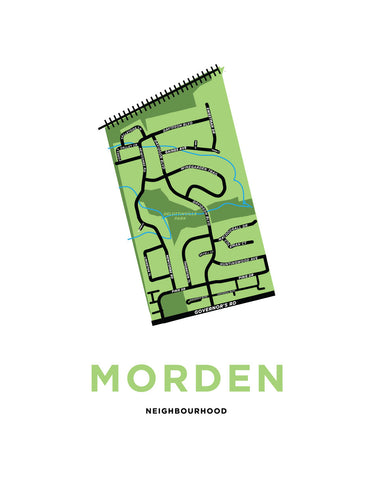 Morden Neighbourhood Map