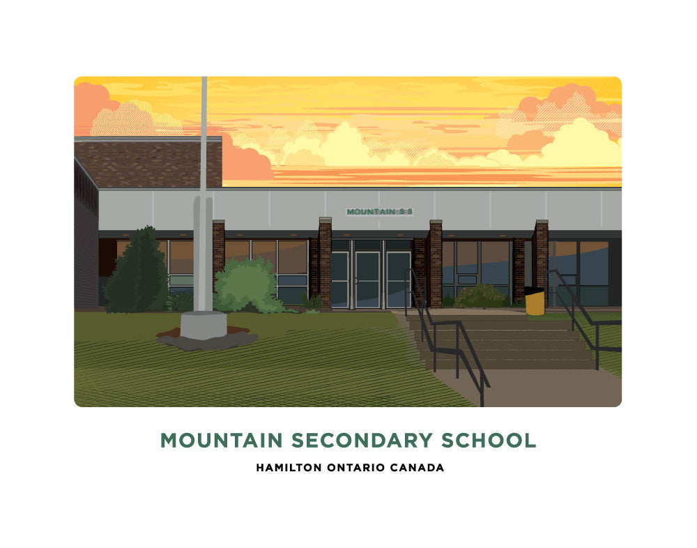 Mountain Secondary School Print