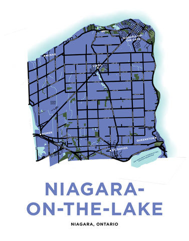 Niagara-On-The-Lake-Map Print (Full Municipality)