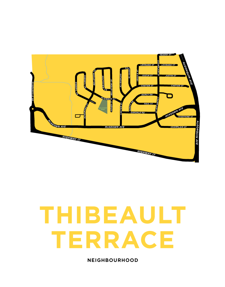 Thibeault Terrace Map Print