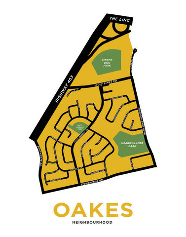 Oakes Neighbourhood, Preview