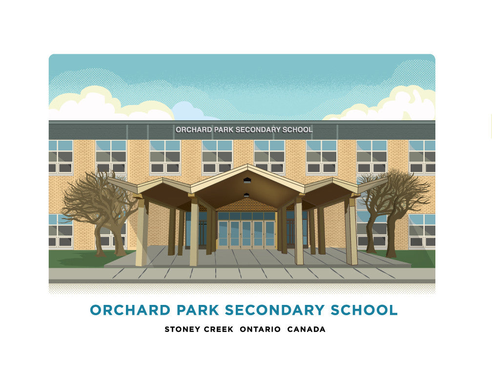 Orchard Park Secondary School Print