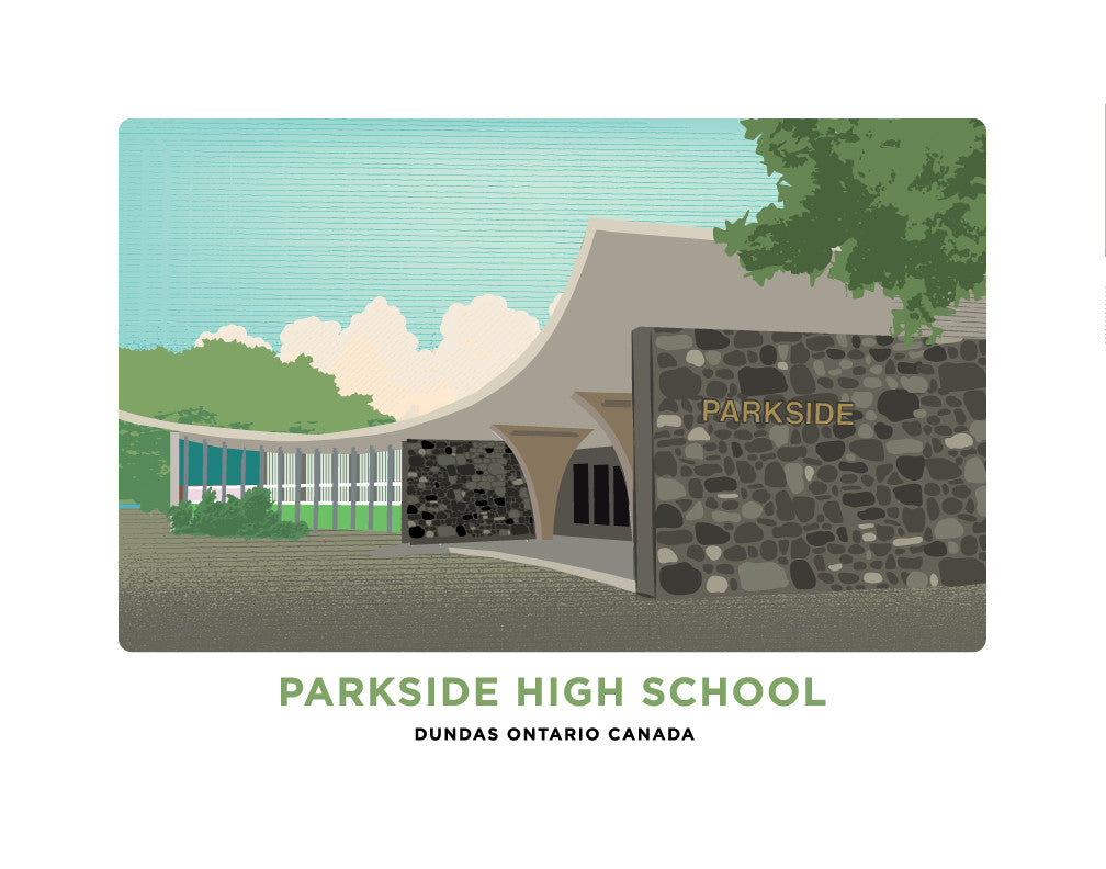 Parkside High School Print
