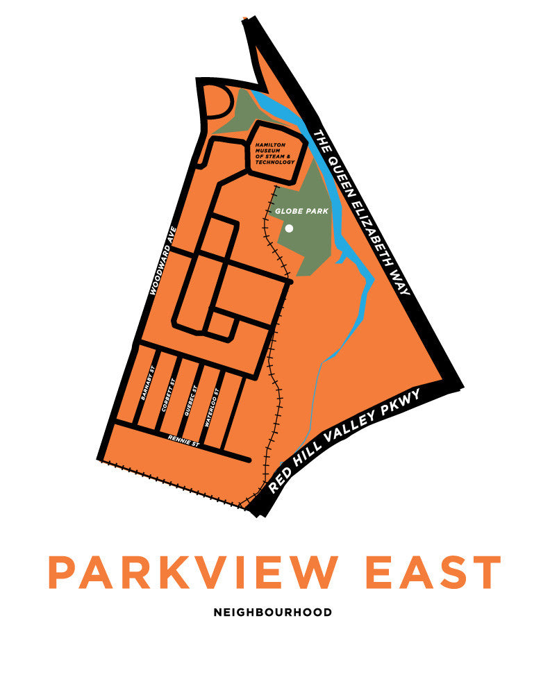Parkview East Neighbourhood Map