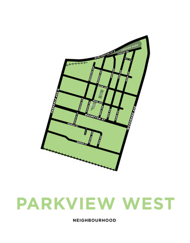 Parkview West Neighbourhood Map