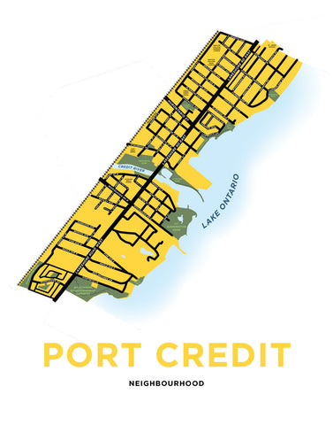 Port Credit Neighbourhood Map