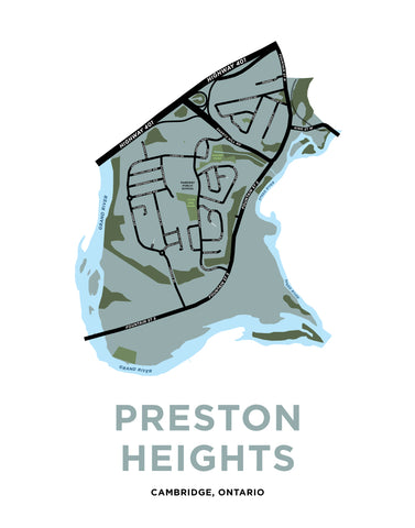 Preston Heights Neighbourhood Map