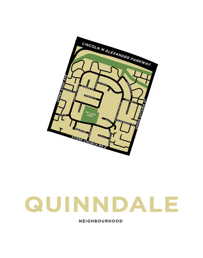 Quinndale Neighbourhood Map