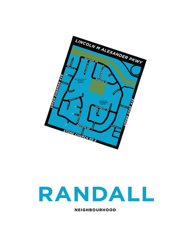 Randall Neighbourhood Map