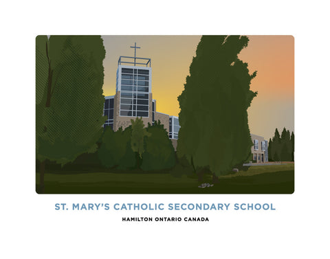 St. Mary's Catholic Secondary School Print
