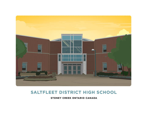 Saltfleet District High School Print