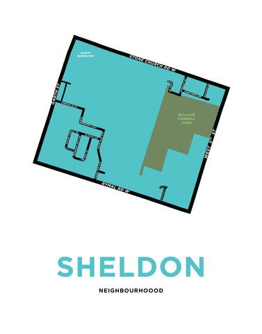 Sheldon Neighbourhood Map