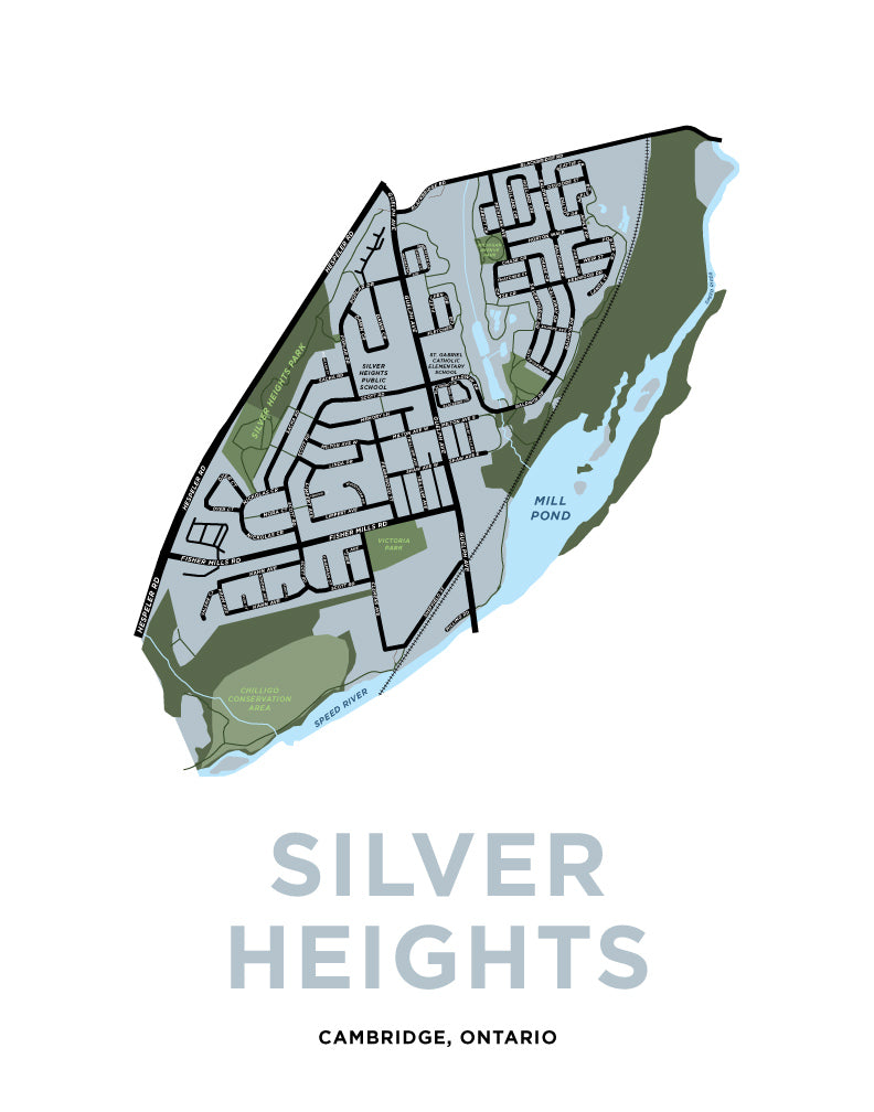 Silver Heights Neighbourhood Map