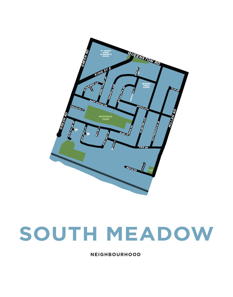 South Meadow Neighbourhood - Stoney Creek - Low-Res Preview
