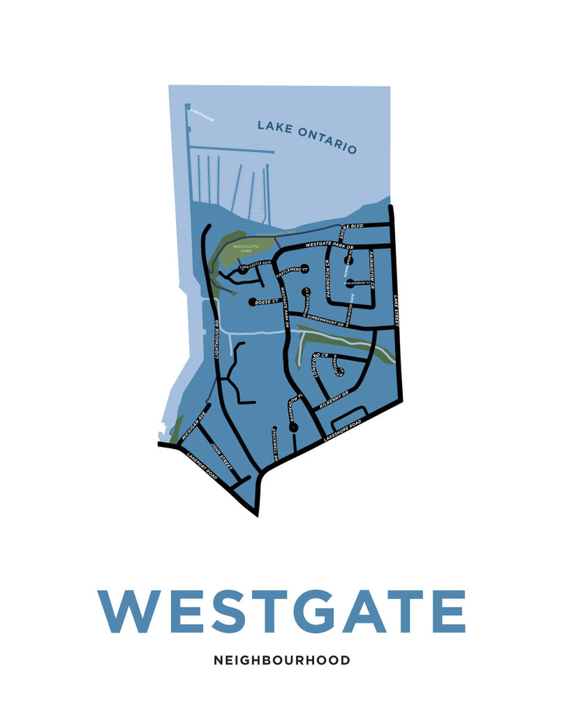Custom Map: Westgate Neighbourhood (St. Catharines)