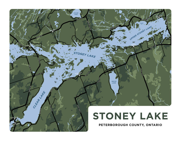 Map Of Stoney Lake Stoney Lake – Jelly Brothers