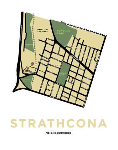 Strathcona Neighbourhood Map