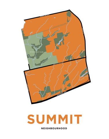 Summit Neighbourhood Map