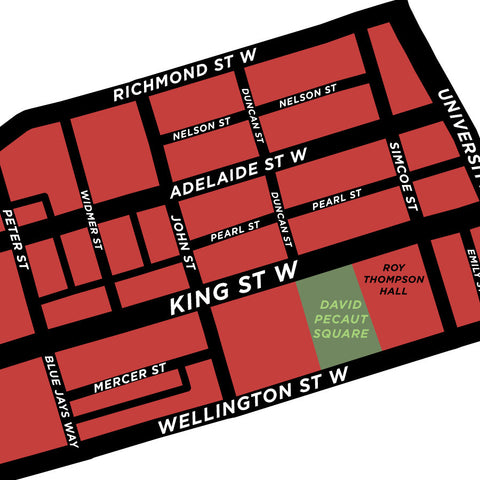 King West Village Map