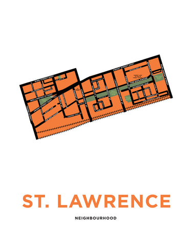 St Lawrence Neighbourhood Map