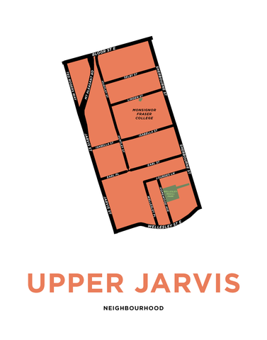 Upper Jarvis Map Print