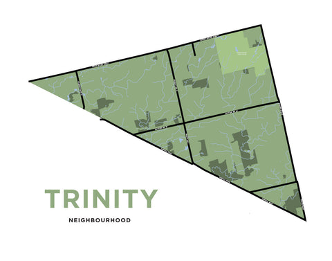 Trinity Neighbourhood Map