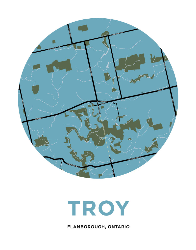 Troy Map
