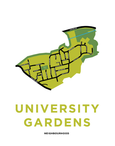 University Gardens Neighbourhood Map