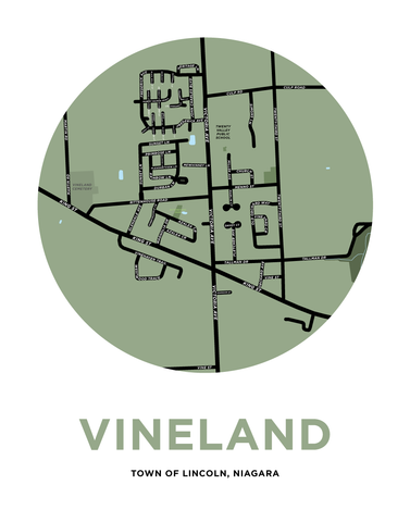 Vineland Map Print