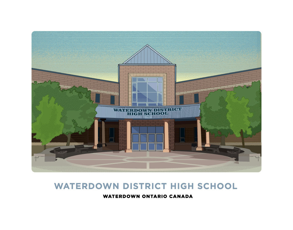 Waterdown District High School Print