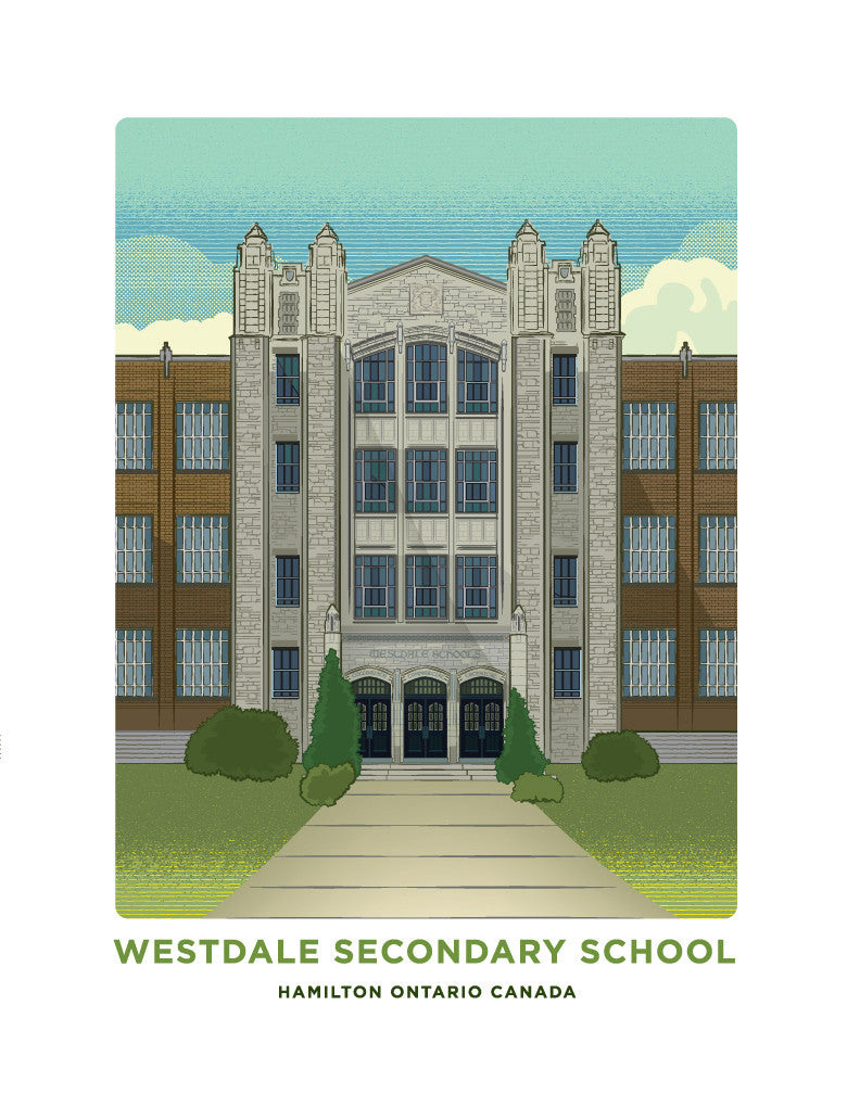 Westdale Secondary School Print