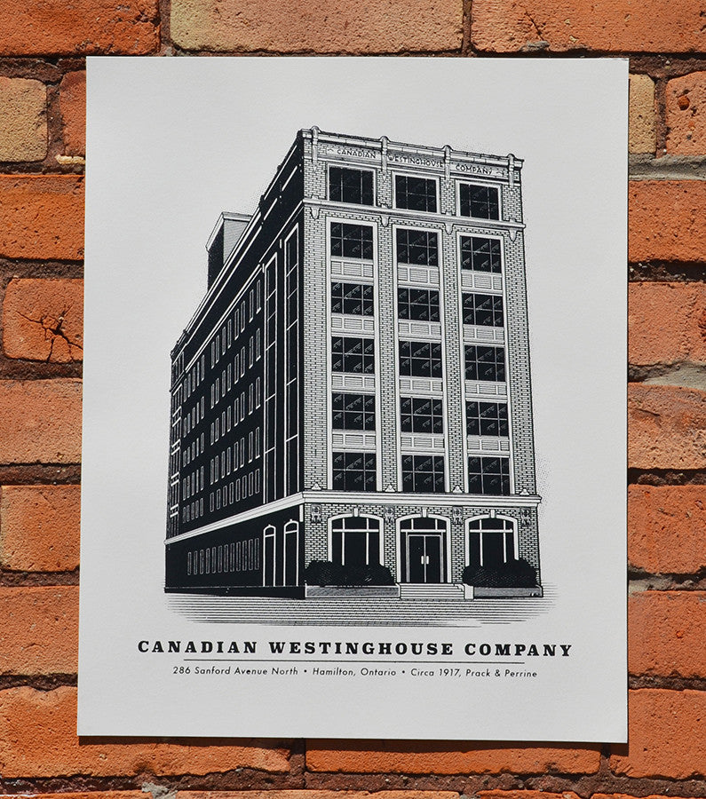 Westinghouse Hamilton Screen Print