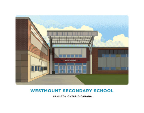 Westmount Secondary School Print