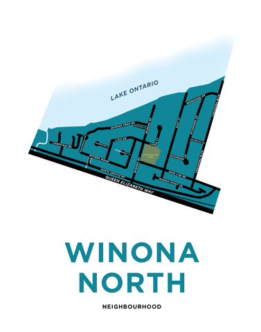 Winona North Map