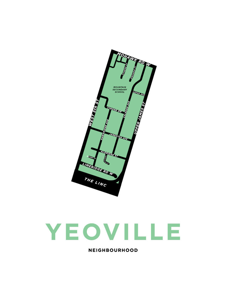 Yeoville Neighbourhood Map