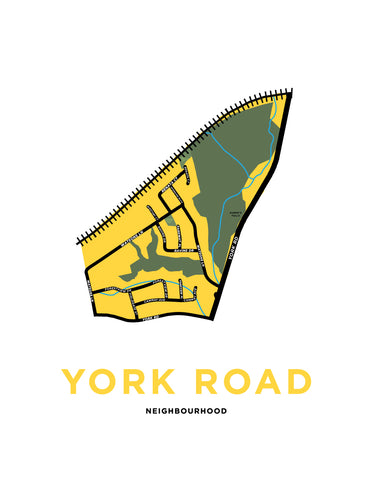 York Road Neighbourhood Map