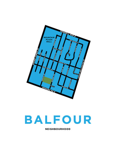 Balfour Neighbourhood Map