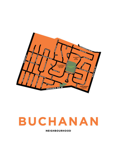 Buchanan Neighbourhood Map