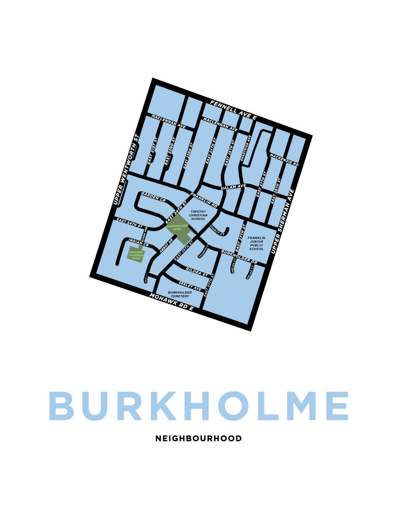 Burkholme Neighbourhood Map