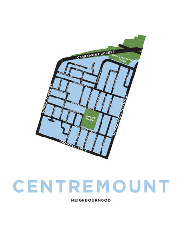Centremount Neighbourhood Map
