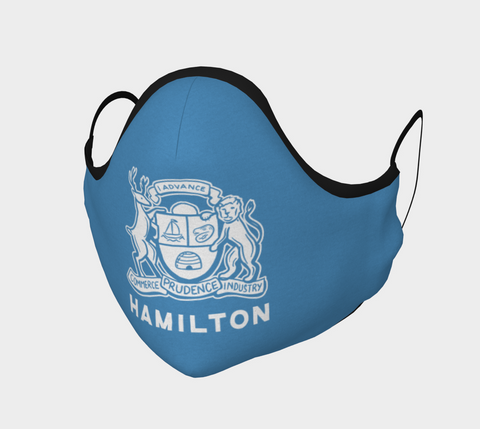 HAMILTON COAT OF ARMS BLUE MASK