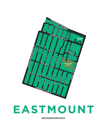 Eastmount Neighbourhood (Low Resolution Preview)