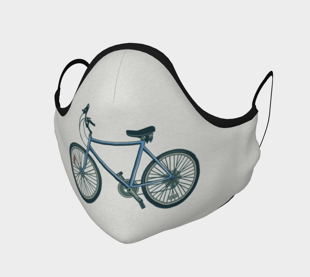 BLUE BIKE MASK