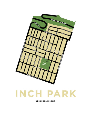 Inch Park Neighbourhood Map
