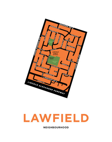 Lawfield Neighbourhood Map