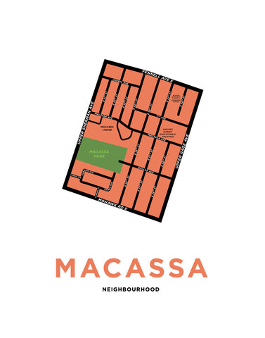 Macassa Neighbourhood Map