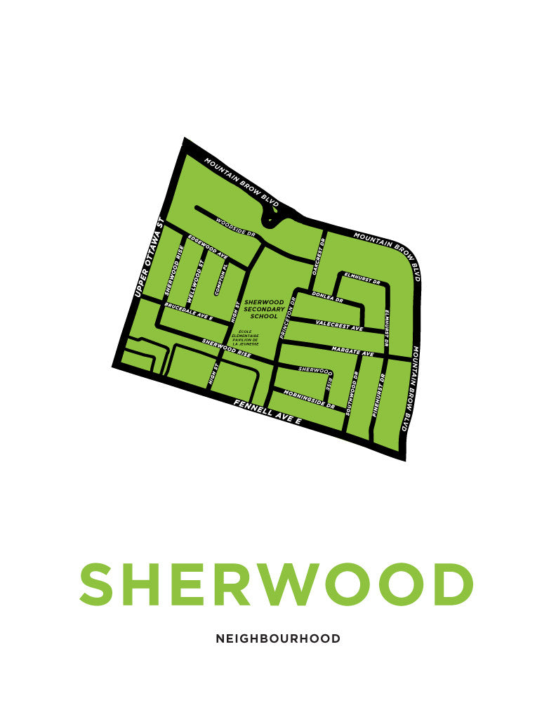 Sherwood Neighbourhood Map