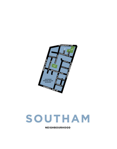 Southam Neighbourhood Map
