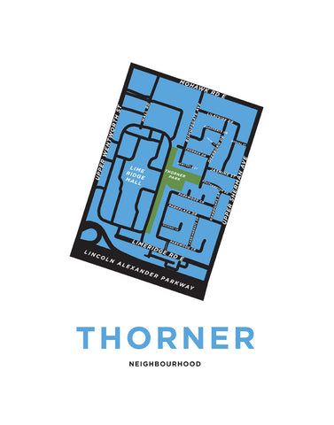 Thorner Neighbourhood Map